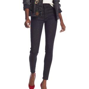 Levi's 720 High Rise Super Skinny Glitter Jeans